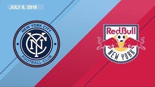 HIGHLIGHTS: New York City FC vs. New York Red Bulls | July 8, 2018