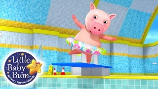 Learn How To Swim Song! (V2) | Fun Learning with Little Baby Bum | Nursery Rhymes for Kids