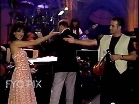 CELINE DION & CLIVE GRIFFIN - Interview & When I fall in love (Live / En public) 1993