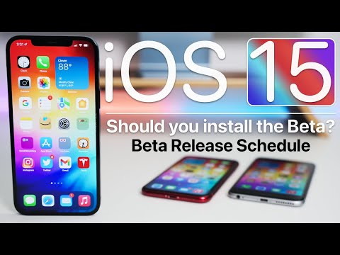 iOS 15 Release Schedule and Should You Install The Beta?