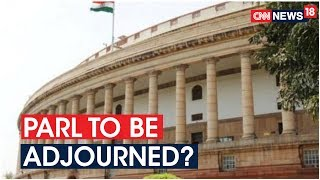 Parliament likely to be adjourned sine die today..