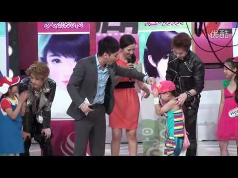 [fancam] 120627 EXO-M  at FeiChangBuYiBan (Lay Luhan Xuimin and Kids)Translate in comments