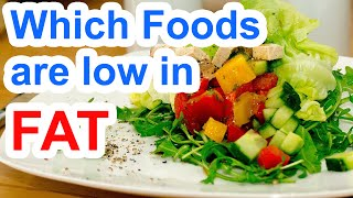 Which Foods Are Low In Fat   Low Fat Foods List