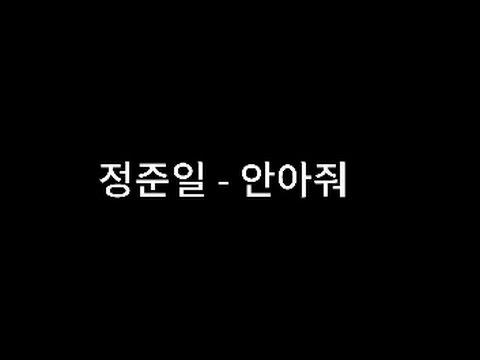 정준일 - 안아줘 [가사]