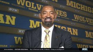 Juwan Howard Talks Michigan Coaching Job, Family Influences and More | Michigan Basketball