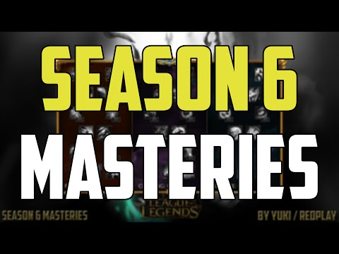 Season 7 masteries • what masteries to use in s7 • mastery pages guide.