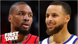 Damian Lillard or Steph Curry: Who would you want in the playoffs? First Take debates