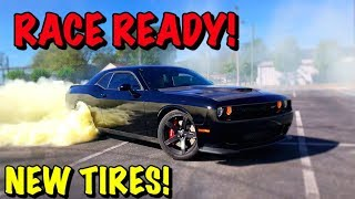 Racing The Rebuilt Hellcat!!!