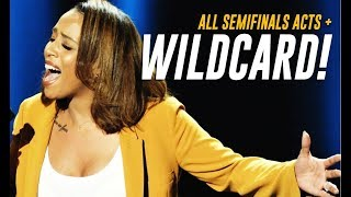 All Semifinal Acts + WILDCARD Revealed! Who's Your Fave? | America's Got Talent 2018