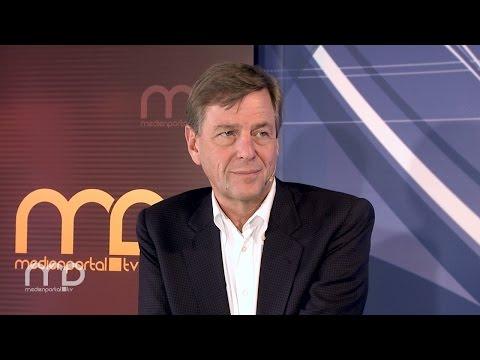 """BUSINESS TODAY: Claus Kleber über seine Arbeit im ZDF-""""heute-journal"""""""
