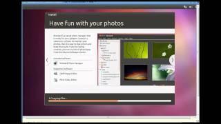 Install Ubuntu 11.10 in a VMware virtual machine