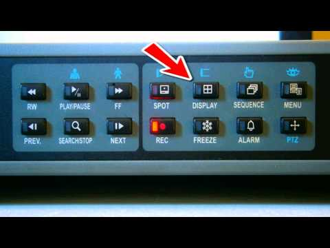 DVR How To Use The Playback Function