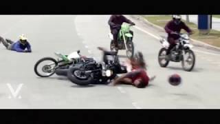 Vishnu Manchu Bike Accident Video in Malaysia..