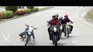 Vishnu Manchu Bike Accident Video in Malaysia..