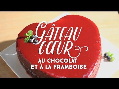 Le gâteau de la Saint-Valentin - CuisineAZ