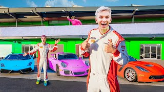 FASTEST RACE CAR CHASE CHALLENGE with BEST FRIEND TWIN to DEFEAT MYSTERY NEIGHBOR WINS $10,000!