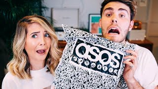 Boyfriend Does My ASOS Shop | Zoella