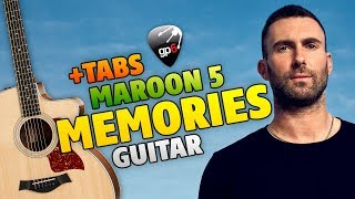 Maroon 5 - Memories (Fingerstyle Guitar Cover With Free Tabs)