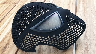 100% Movie Accurate Spider-Man Face Shell with Magnetic Eye Frames - How to Assemble 3D-Printed Mask