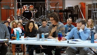 Rehearsal Sizzle Reel for Rock of Ages at The 5th Avenue Theatre