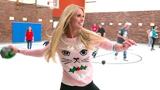 CHRISTMAS SWEATER DODGE BALL!