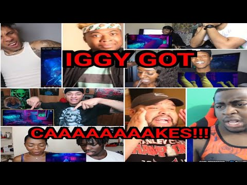 HILARIOUS!! Reactors Reacting to Iggy Azalea Kream Official Music Video REACTION COMPILATION