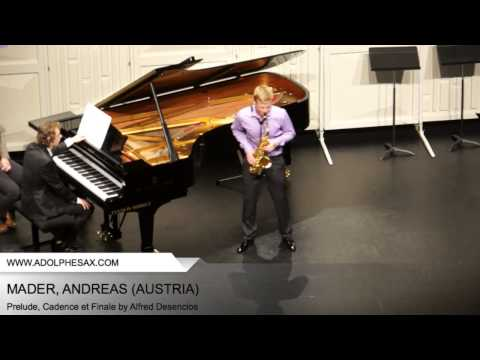Dinant 2014 - Mader, Andreas - Prelude, Cadence et Finale by Alfred Desenclos