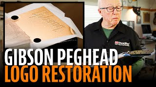 Watch the Trade Secrets Video, Spraying a peghead logo using a vinyl frisket