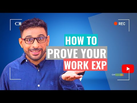 How To Write You Experience Letter for Canada Express Entry - To Prove Your Work Experience