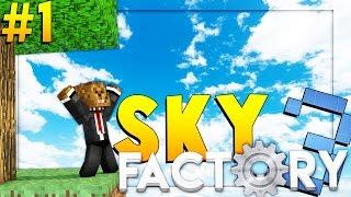 Minecraft SkyFactory 3 - BRAND NEW ADVENTURE - Modded Survival #1