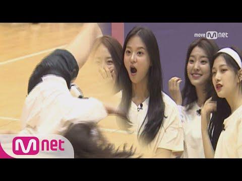 Idol School [2회]막춤부터 팝핀까지! #김명지 #장규리 #김은서 #조유리 #추원희 @ 댄스배틀 170720 EP.2
