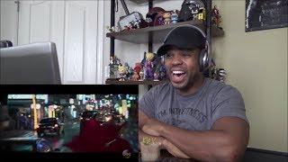 BLACK PANTHER Movie Clip - Dora Milaje vs Klaue Fight Scene - REACTION!!!