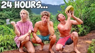 Surviving 24 Hours In The Jungle!
