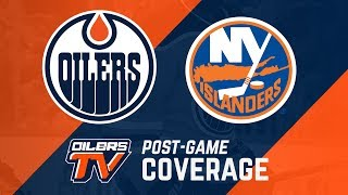 ARCHIVE | Post-Game Coverage - Oilers at Islanders