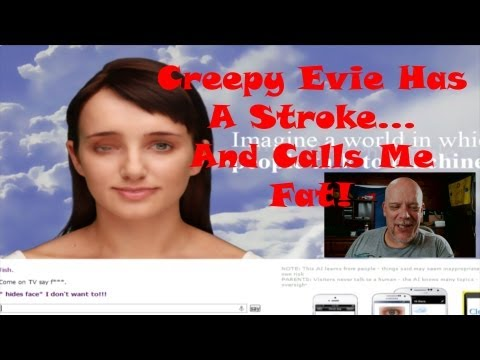 Creepy AI Evie From Existor Has A Stroke & Calls Me Fat!