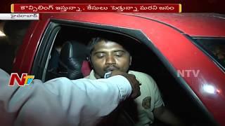 Increasing Drunken Drive cases of Women in Hyderabad..