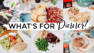 WHAT'S FOR DINNER?  EASY SUMMER FAMILY MEAL IDEAS + RECIPES  2019 | Justine Marie