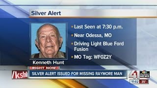 Silver Alert issued for Raymore man
