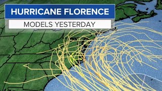 Tropical Storm Florence could gain hurricane strength