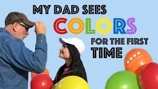 My Dad sees Color for the first time with EnChroma Glasses