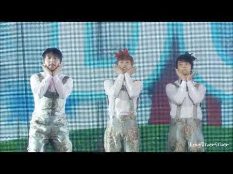 [CUT] DVD SS4 Tokyo dome - Doremi Song - Super Junior Cute Baby