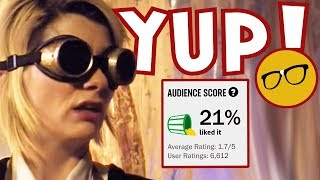 Doctor Who 21% Rotten Tomatoes Audience Score | Whovians Have The Final Word