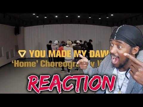 DANCER REACTS TO SEVENTEEN Home Dance Practise | [Choreography Video] SEVENTEEN(세븐틴) - Home REACTION