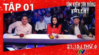 [FULL HD] Vietnam's Got Talent 2016 - TẬP 01 (01/01/2016)