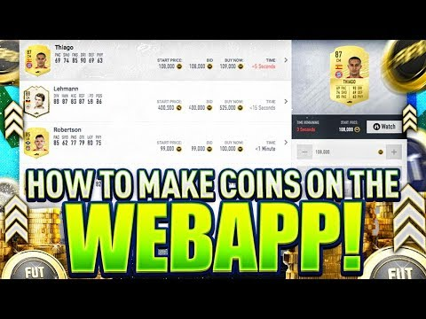 HOW I'M MAKING COINS ON THE FIFA 20 WEB APP!! FIFA 20 Ultimate Team