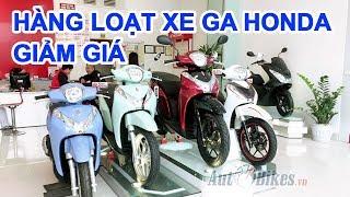 SH, SH mode, Lead giảm. Cập nhật giá xe máy Honda toàn quốc hôm nay