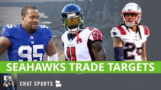 6 Potential Seattle Seahawks Trade Targets Ft. Julio Jones, Stephon Gilmore And B.J. Hill