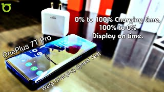 OnePlus 7t Pro Warp Charging Speed Test How Fast From 1% all the way to 100% - HiNDi