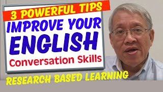 Fluent English Conversation   - 3 powerful tips to become achieve fluency