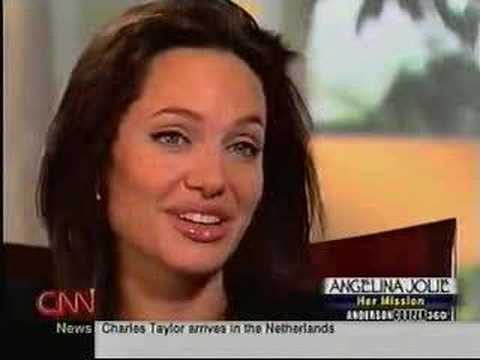 Angelina Jolie on CNN's Anderson Cooper 360 part 2